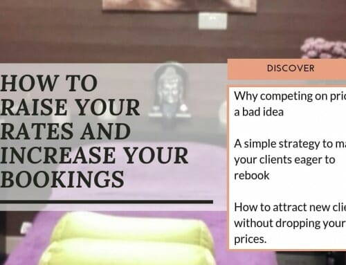 How to Raise Your Rates and Increase Your Bookings