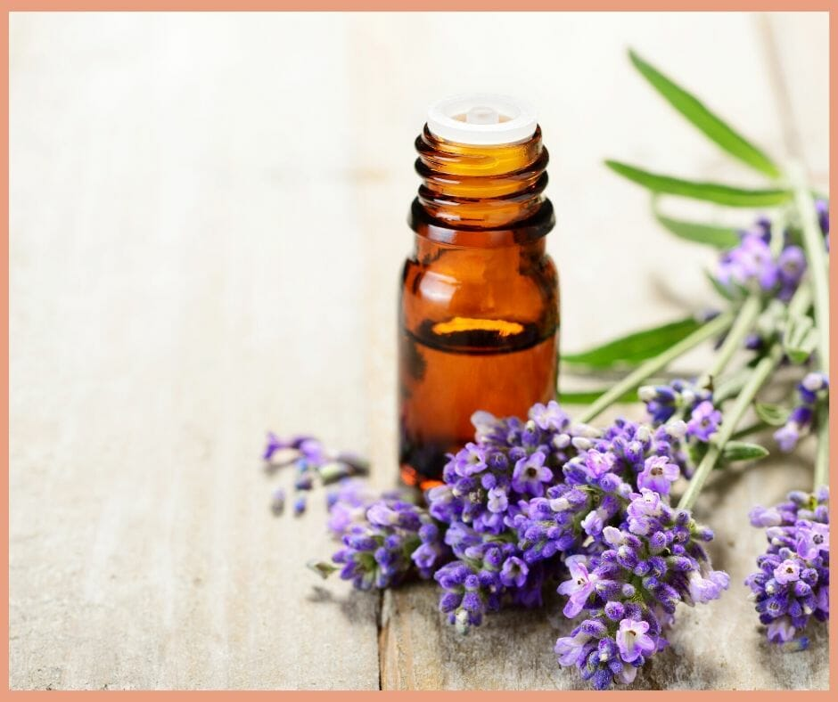 Aromatherapy for pain and infection